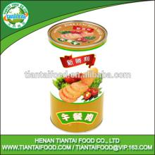 wholesale food distributors pork luncheon meat in tin cans