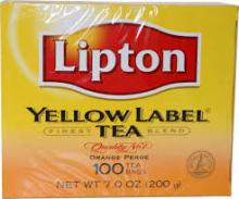 Lipton Tea Yellow Label T