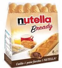 NUTELLA BREADY T8X16