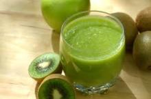 Sweet and Sour Kiwi Juice to Lose Weight