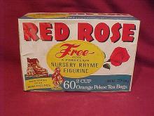 Red rose tea bag