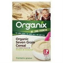 Organix Organic Seven Grain Baby Cereal For Sale