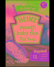 Heinz Breakfast First Foods Smooth Baby Rice