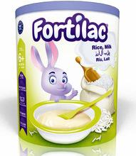 FORTILAC BABY CEREALS RICE AND MILK 400g