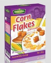 CORN FLAKES CEREALS WITH CARAMEL FOR YOUR BREAKFAST