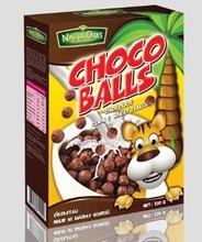 NATURAL CORN FLAKES CEREALS CHOCO BALLS FOR YOUR BREAKFAST