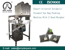 Pyramid Nylon Tea Bag Packing Machine for Earl Grey Black Tea