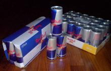 Red Bull blue slim can energy drink $8 per tray