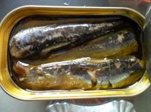 High Quality canned Sardines,125g Sardines