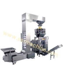 Pet   food , rice, grains, beans Multi-head Combined Weighing Vertical  Packing   Machine