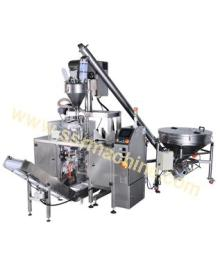 Auger Filler Feeding system complete line for Milk powders, Flour, spices, etc