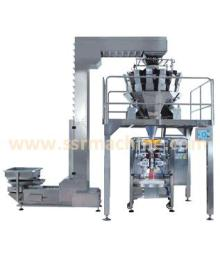 Automatic packing machine with 14 head weigher for Plantain Chips, potato chips, french chips