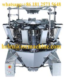 10 head weigher scale Automatic Dump Filling salad, dates, dry fruits, etc