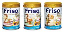 Friso Baby Milk Powder/ Friso Gold Baby Milk Powder