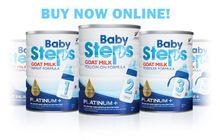 baby steps Goat Milk Infant Formula 900g