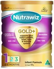 Nutrawiz Gold + infant formula 900g Australian Made Premium Baby Milk Powder