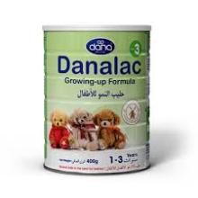 Danalac Infant Formula / Baby Milk Tin 400g (text available in Arabic)