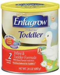 Enfagrow premium infant / toddler formula