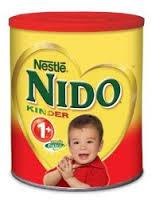 Nido/Nestle +1 , 2 3 stages /Nestle Milk powder Text available in English and Arabic