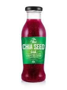 280 мл вишневого ароматизатора напитка из семян чиа