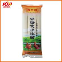 Dried egg flavor 1.0mm square shape noodles