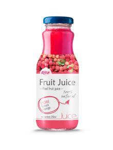 250ml Glass Bottle Lychee Juice