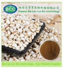Natural High quality Coix Lacryma-Jobi Seed Extract/Ma-yuen Jobstears Seed Extract powder/ Semen Coi