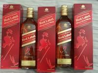 Johnnie Walker Red, Black, Gold, Blue Labels Whisky