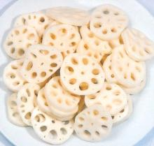 Freeze Dried lotus root slices