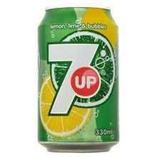 7UP  Lemon , Lime 330ml x 24 units Soft  Drink s,
