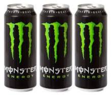 Monster Energy Drink Available