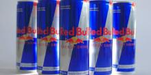 Red bull energy drink.,