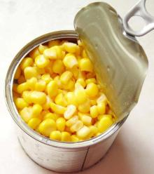 Canned Yellow Corn