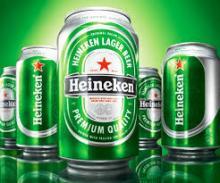 Dutch Heineken Beer cans and bottles