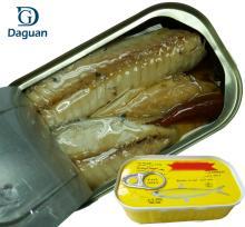125g*50  Canned   mackerel  fillet in Oil Manufacturer