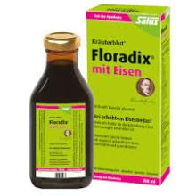 Floradix Red and Green 500 ml
