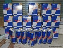 Red Bull energy drink 330 ml. Cans Austria Origin