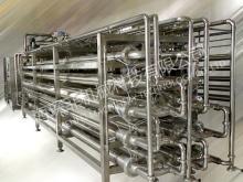 Tube in tube sterilizer,fruit jam paste sterilizer