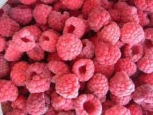 Grade A 95% whole frozen raspberry