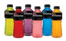 Powerade drinks