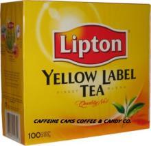 LIPTON Yellow Label Tea 100bags/box, 2gsm/bag