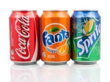 Coca-Cola, Fanta, Sprite, Peps