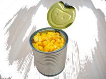 Sweet kernel corn canned