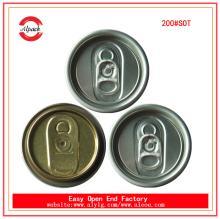Top Sale 200#SOT 50mm beverage aluminum can lids supplier