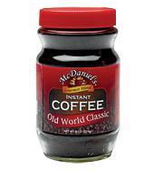 McDaniels Instant Coffee