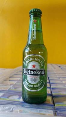 Beer Heineken 250 ml glass,
