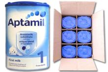 Aptamil infant formula milks