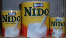 Transperent Cap Nestle Nido Milk from Holland