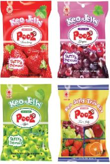 Pooz jelly candy 100g