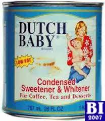 Dutch Baby Sweetened Condensed Milk ( Full Cream) - in Tin